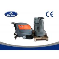 China Electric Battery Powered Hard Floor Brush Scrubber Machine 100 Litre Recovery wholesale