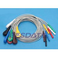China Safety ECG Cables And Leadwires For Philips / Datascope / Spacelab wholesale