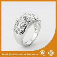 China Custom Silver Diamond Fashion Rings Rose Gold Rings For Women wholesale