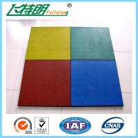 China Childrens Safety Protecting Rubber Mat For Playground of 500x500x25 cm on sale