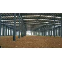 China Commercial Prefab Steel Warehouse Buildings / Commercial Metal Buildings on sale