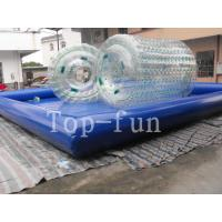China Transparent Inflatable Water Roller For sea / lake / swimming pools wholesale