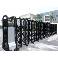 China Powder Coated Automatic Retractable Gate IP 44 Smart For College wholesale