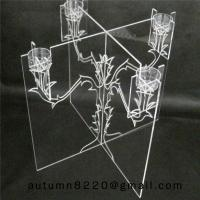 China CH (21) home display acrylic candle stand wholesale