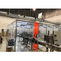 China E Cigarette Production Plexiglass Wall Softwall Clean Room wholesale