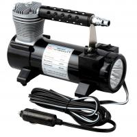 China 2 In 1 Portable Metal Single Cylinder Air Compressor With Light  / Bag And Hose wholesale