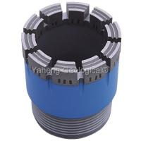 China NWG Double Tube Diamond Core Drill Bit For Wet / Dry Drilling High Drill Speed wholesale