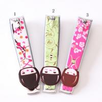 Novelty Design Printed Promotional Nail Clippers Key Rings For Personalization