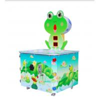 China Accurate Record Scores Kids Arcade Machine Hitting Frog Game For 1 Players wholesale