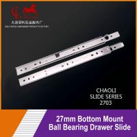 Buy cheap 27mm Bottom Mount Ball Bearing Drawer Slide For Shelves 2703 from wholesalers