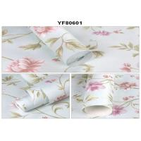 China Eco - Friendly Custom Strippable Self Adhesive Wallpaper For Sofa Background wholesale
