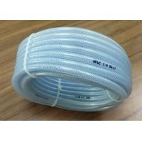 China High Pressure Braided Hose , PVC Clear Reinforced Hose Pipe For Water Delivery wholesale