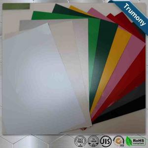 China Multicolor FEVE Aluminium Composite Panel Sheet Thickness 3mm ~ 6mm Custom Length wholesale