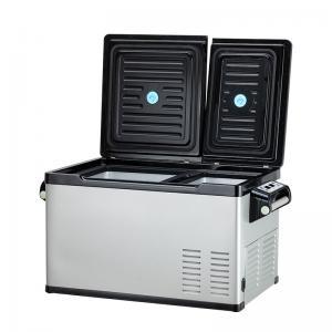 China Dual Temperature DC Compressor 30Litres Truck Fridge Freezer wholesale