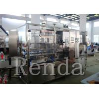 China Edible Oil / Cooking Oil Filling Machines Electric Driven Water Filling Machine wholesale