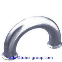 China Butt Welding Pipe Fittings Carbon Steel Elbow 180 Elbow For Petroleum , Chemical wholesale