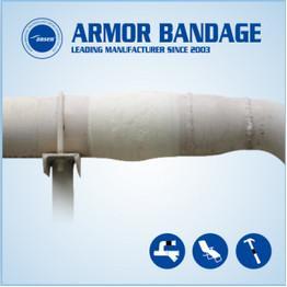 China 100mm 4.6m Ansen Black Pipe Wrap Repair Bandage Fix it Wrap Repair Tape Fiberglass Fix Tape wholesale
