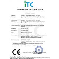 Changzhou wujin xinxing clothing co. LTD Certifications