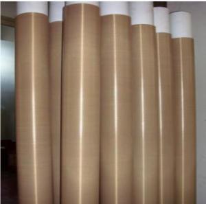 China High Temperature PTFE Coated Fiberglass Fabric With Teflon Fiberglass Coated wholesale