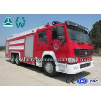 China 18 Meters High Spraying Fire Engine Truck With Telescoping Combination Boom wholesale