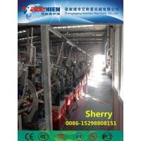 China PVC artificial marble profile making machine extrusion line artificial marble profile production line wholesale