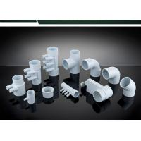 China PVC Plumbing Parts Plastic Water Distribution Manifold , Tee , Elbow For Connecting wholesale