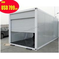 China 20ft 40ft luxury prefab shipping container homes for sale in usa on sale