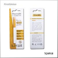 Buy cheap 400 Puffs 280mAh Green Smoke Disposable Electronic Cigarettes YJ4927 from wholesalers