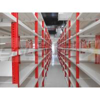 China Cold Rolling Steel Light Duty Racking System , Light Duty Shelving Units wholesale