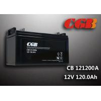 China Power Energy Solar Wind Sealed Lead Acid Battery 12V 120AH CB121200A wholesale