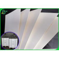 China 1mm thick non-slip white absorbent paper board for making beer mat on sale