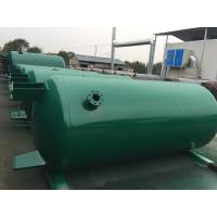 China Carbon Steel Verticial Underground Oil Storage Tanks High Pressure Vessel wholesale