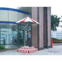 China Metal Stainless Steel Residential Security Guard Booths / Shack wholesale