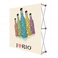 China Fabric Portable Pull Up Display Banners , 2 * 2 Roll Up Display Stands wholesale