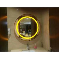 Buy cheap CE ETL Round Led Bathroom Mirror 3000K or 6000K wall mounted makeup mirror from wholesalers
