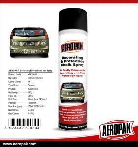 China AEROPAK 500ML aerosol spray can Decorating and Protection Chalk Spray wholesale