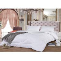 China 180GSM 100% Cotton 60S Goose Down Hotel Bedding Duvet Double Needle Stitched wholesale