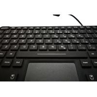 China Customs military app keyboard with red backlight and M4 vesa mounting holes for vehicle wholesale
