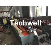 China Polyurethane Foam - Filled Rolling Shutter Roll Forming Machine For Making Door & Window Slats wholesale