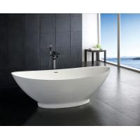 China contemporary Free Standing stone resin bathtub bathroom soaking tubs and showers wholesale
