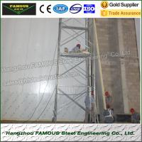 China 75mm Thick Thermal Insulated Sandwich Panels PU Wall System Use wholesale
