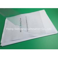 China High Transparency 170 Mic PVC Binding Covers A3 Accurate Size Without Any Deviation wholesale