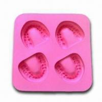China Frozen Smile Silicone Ice Cube Tray, Nontoxic/Non-stick,OEM Orders Available,FDA-/LFGB-approved wholesale