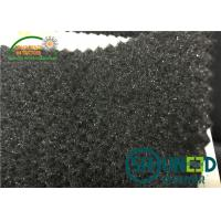 China Polyester Garments Accessories Black Sleeve Felt With Foam on sale