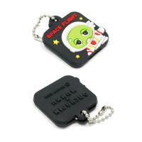 China Personalized Promotional Gifts For Clients 3D Soft PVC Rubber Keychain wholesale