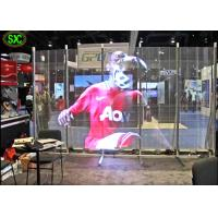 China Full Color Transparent Led Screen For Window Advertising , Glass Display Screen wholesale