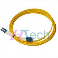 China Dual LC to LC Fiber Patch Cord, OM1/OM2/OM3/OM4 Fiber Optical Cable on sale