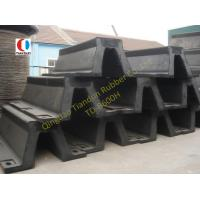 China Black Arch Marine Rubber Fender For Steamship , 600H High Strength wholesale