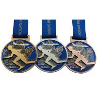 China Round Copper Metal Award Medals Original Material Color Die Casting Process wholesale