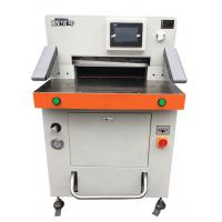 China Fully Automatic Paper Cutting Machine 490mm Size Office Automatic Paper Cutter wholesale